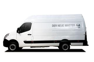 Renault Master 4x4 - Vom Lieferwagen zum Geländegänger