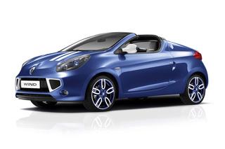 Renault Wind Gordini - Blau-weiß gestreiftes Cabrio