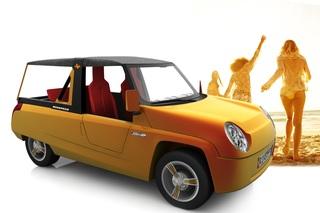 Rinspeed Bamboo - Das E-Mobil von Saint-Tropez