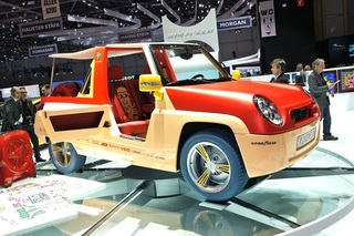 Rinspeed Bamboo - Elektromobil für den Strand