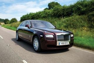 Rolls-Royce Ghost EWB - Für Selbstfahrer mit Teilzeit-Chauffeur