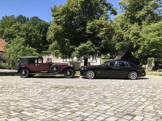Impression: Rolls-Royce Phantom I trifft auf Phantom VIII - Im Lauf...