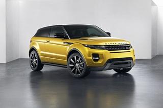 Land Rover Evoque-Sondermodell - SUV-Schönling in Signalfarbe