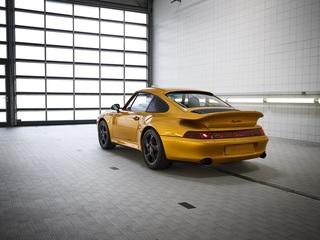 """Porsche 993 """"Project Gold""""  - Besonderes Einzelstück für den guten ..."""