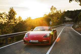 Fahrbericht: Porsche 718 T - Mehr Spaß an der Basis