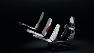 Porsche-Sportsitz zum Ausdrucken - Polsterteile aus dem 3D-Drucker