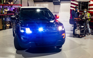 Ford Police Interceptor Utility   - Mit Hitze gegen Corona