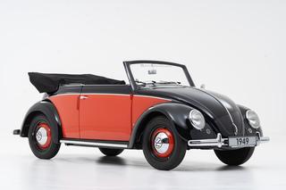 70 Jahre VW Käfer Cabriolet Typ 14 - Ziemlich seltener Jubilar