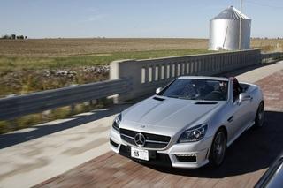 Mercedes-Benz SLK 55 AMG - Ein Vollblut-Roadster macht halbe Sachen...