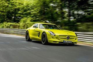 Mercedes SLS AMG Coupe Electric Drive - Elektrischer Sportler rockt...