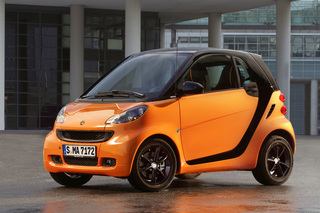 Smart fortwo nightorange - Orange wie die Nacht