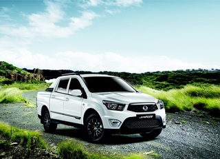 Ssangyong Actyon Sports Facelift - Mehr Power für den Pick-up
