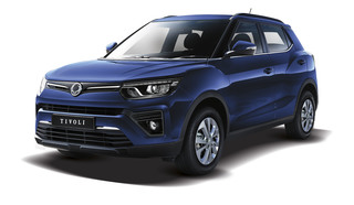 Ssangyong Tivoli   - Neuer Dreizylinder für das Mini-SUV