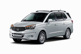 Ssangyong Rodius - Jetzt ohne Heck-Meck