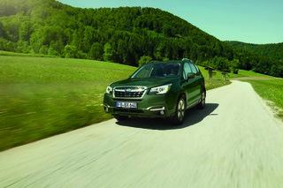 Subaru Forester Sondermodelle - Grünes für Stadt oder Land