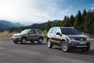 Suzuki Grand Vitara - Sanftes Lifting für das SUV