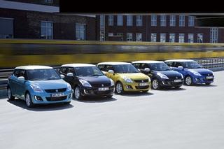 Suzuki Swift Sondermodell - Farbenfrohe Geburtstagsparty