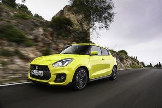 Test: Suzuki Swift Sport  - Suzi Sausebraus