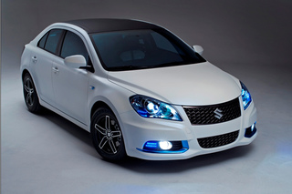 Suzuki Kizashi EcoCharge Concept - Ein Viertel sparsamer dank Hybrid