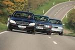 Fahrbericht Mercedes S 500, BMW 740i, Audi A8 4.2: Luxus-V8-Limousi...