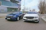 Mercedes E 200 gegen E 220 d: Der Diesel ist entspannter