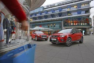 Audi Q2 vs. SeatArona: City-SUVs imTest
