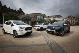 Günstige Kompakt-SUV imTest: Duster, Ecosport, MokkaX