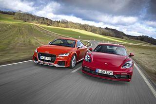 Cayman GTS vs TTRS: Sportcoupés imVergleich