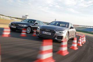 Audi A6 vs. BMW530d: Saubere Business-Diesel mitAllrad