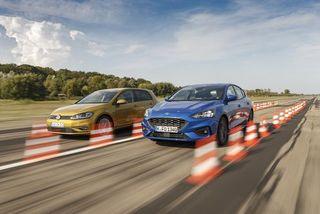Ford Focus gegen VWGolf: Reicht es endlich für denSieg?