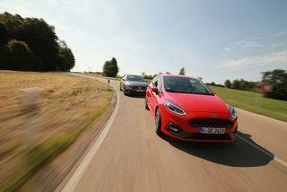 Ford Fiesta ST gegen VW PoloGTI: Vom Jäger undGejagten