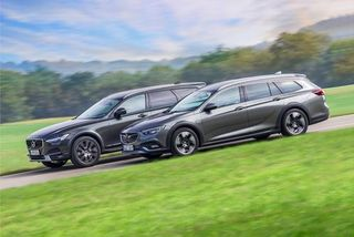 Opel Insignia CT, Volvo V90CC: Welcher Allradkombi istbesser?