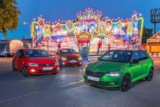 Mazda 2, Skoda Fabia und VW Polo imTest: Wer liegt im Stadtrummel...