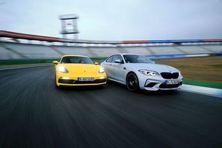 BMW M2 Competition und Porsche 718 Cayman GTS im Test: BMW in Compe...