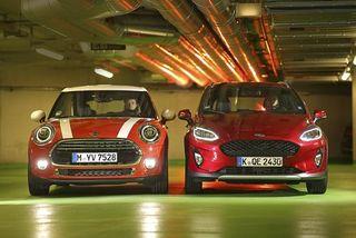 Ford Fiesta und Mini Cooper im Test: Nur eine Frage des Stils?