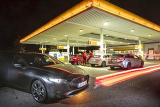 Mazda Skyactiv-X im Test: Das neue Motorenkonzept im Verbrauchsverg...
