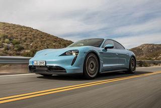 Porsche Taycan 4S (2020): Weniger Hubraum, gleicher Fahrspaß?