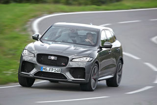 Jaguar F-Pace SVR im Test: Kompressor-V8 mit 680 Nm