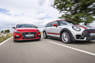 Hyundai i30 Fastback N vs. Mini Clubman John Cooper Works All4: Spo...