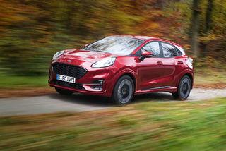 Ford Puma ST-Line X im Fahrbericht: Crossover von Ford auf Kleinwag...