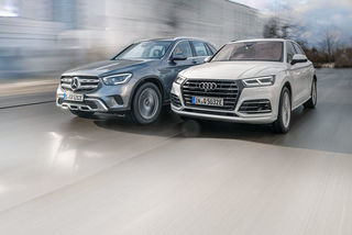 Audi Q5 55 TFSI e und Mercedes GLC 300 e im Test: Plug-In-Hybrid-SU...