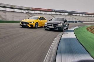 Mercedes-AMG A 45 S und C 43 Coupé im Test: Lieber Hot Hatch oder e...