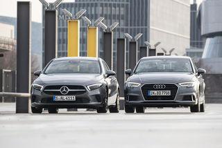 Audi A3 35 TDI und Mercedes A 200 d im Test: Stufenheck-Kompakte im...