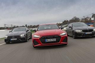 Audi RS7, BMW M5 Competition, Mercedes AMG GT 63 S: Die schnellsten...