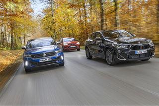 BMW X2 M35i, Cupra Ateca und VW T-Roc R im Test: So gut wie klassis...