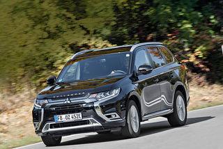 Mitsubishi Outlander PHEV im Test: Modellpflege punktet mit guter A...