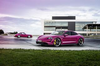 Porsche Taycan Modellpflege - Jetzt wird's bunt