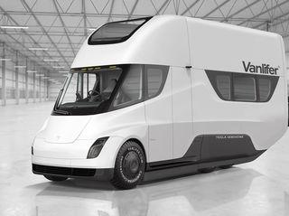 Tesla Vanlifer Concept - Ein elektrisches Wohnmobil