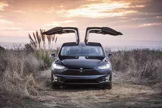 Test: Tesla Model X P 100 D - Sport-Van für Hollywood