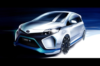 Toyota Yaris Hybrid-R Konzept - Kleinwagensportler mit drei Motoren